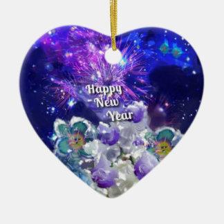 Ornamento De Cerâmica Olhe como surpreender será o ano novo