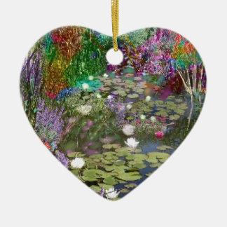 Ornamento De Cerâmica Olhe isto e você encontrará a paz