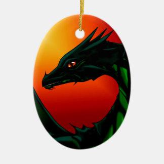 Ornamento De Cerâmica Olho do dragão