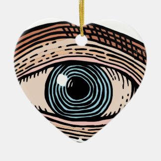 Ornamento De Cerâmica Olho do providência (transparente)