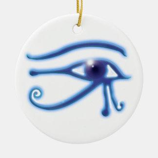 Ornamento De Cerâmica Olho do símbolo antigo de Wadjet do egípcio do Ra