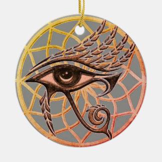 Ornamento De Cerâmica Olho ideal do coletor de Horus