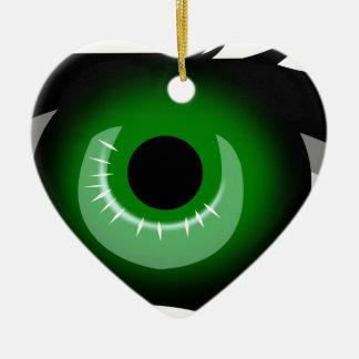 Ornamento De Cerâmica Olho verde