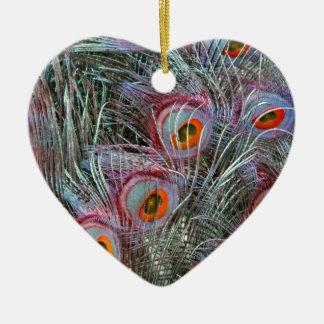 Ornamento De Cerâmica Olhos do pavão do disco 70s