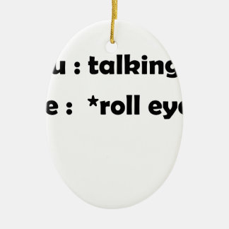 Ornamento De Cerâmica olhos do rolo