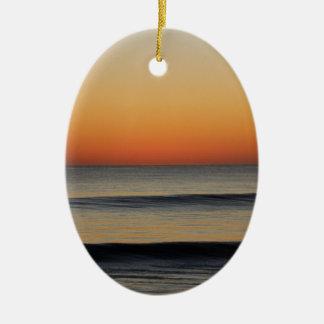 Ornamento De Cerâmica Ondas em você horizonte