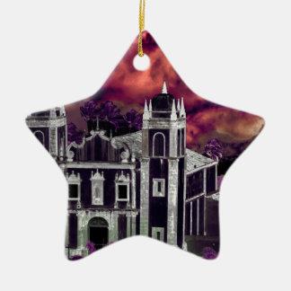 Ornamento De Cerâmica Opinião aérea da arquitectura da cidade tropical