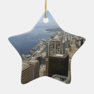 Ornamento De Cerâmica Opinião de Arial de Seattle
