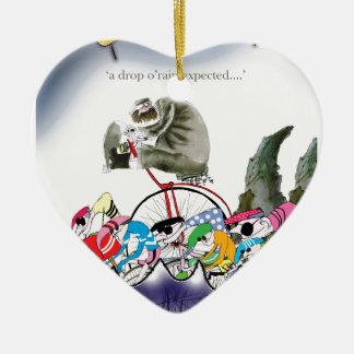 Ornamento De Cerâmica o'rain da gota de yorkshire do amor