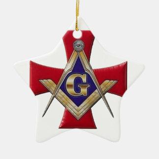 Ornamento De Cerâmica Ordem sagrado da fraternidade