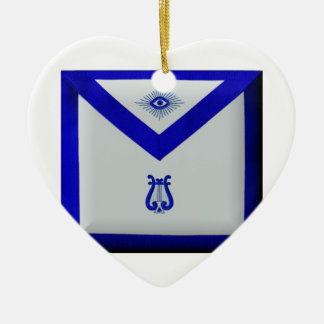 Ornamento De Cerâmica Organista maçónico