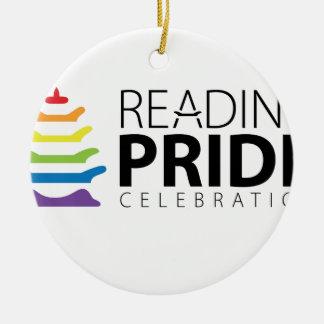 Ornamento De Cerâmica Orgulho da leitura
