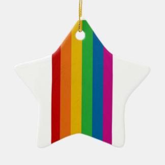 Ornamento De Cerâmica Orgulho de LGBT