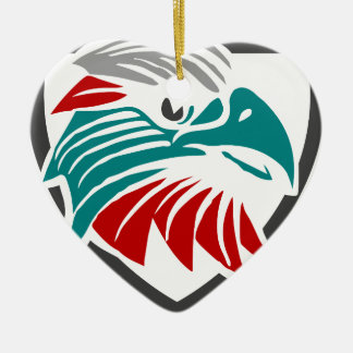 Ornamento De Cerâmica Orgulho e proteção de Eagle