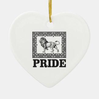 Ornamento De Cerâmica Orgulho extravagante do leão