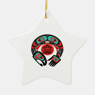 Ornamento De Cerâmica Orgulho pacífico