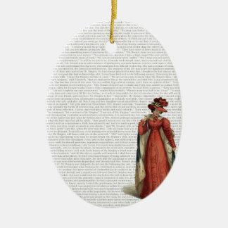Ornamento De Cerâmica Orgulho & preconceito