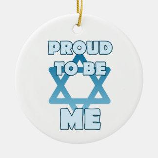 Ornamento De Cerâmica Orgulhoso ser judaico