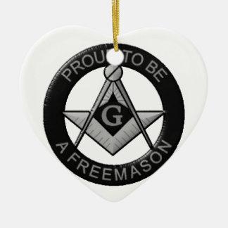 Ornamento De Cerâmica Orgulhoso ser um Freemason