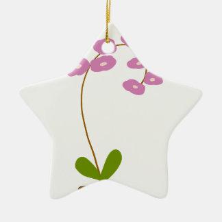 Ornamento De Cerâmica orquídeas