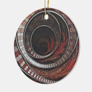 Ornamento De Cerâmica Os anéis mil e um do circo