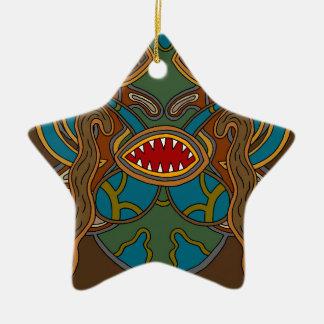 Ornamento De Cerâmica Os oásis