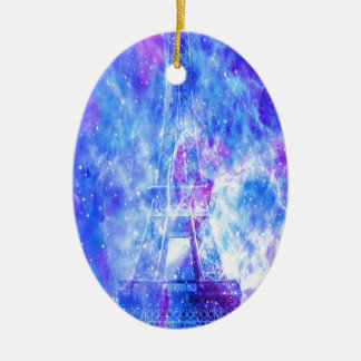 Ornamento De Cerâmica Os sonhos parisienses do amante
