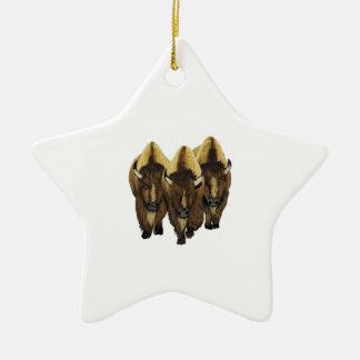 Ornamento De Cerâmica Os três amigo