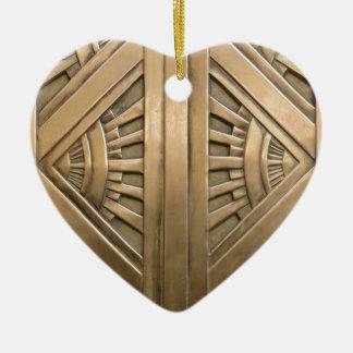 Ornamento De Cerâmica ouro, nouveau da arte, art deco, vintage, chique,