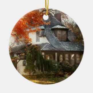 Ornamento De Cerâmica Outono - em cada conto de fadas