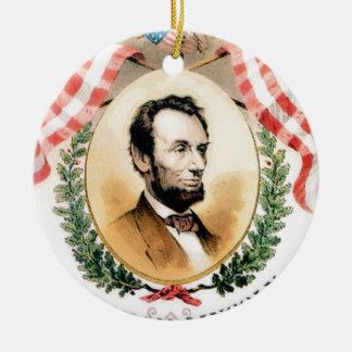 Ornamento De Cerâmica Oval de Abe