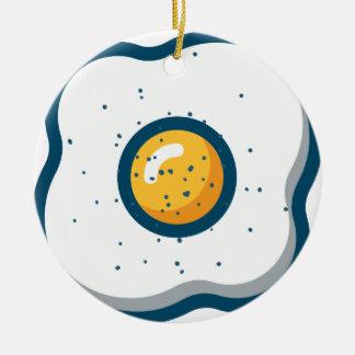 Ornamento De Cerâmica Ovo