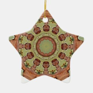 Ornamento De Cerâmica Oxidação-Mandala, ROSTart 712_2