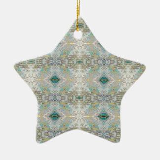 Ornamento De Cerâmica Padrões pastel pairosos leves