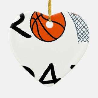Ornamento De Cerâmica PAI do basquetebol