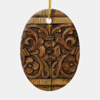 Ornamento De Cerâmica painel de madeira