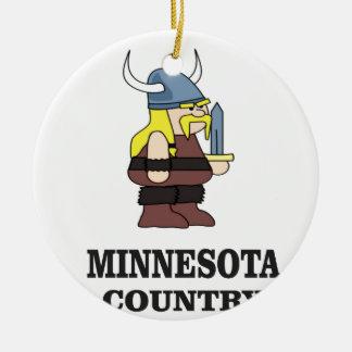 Ornamento De Cerâmica País de Minnesota