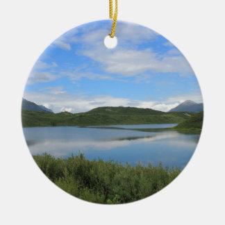 Ornamento De Cerâmica Paisagem de Alaska