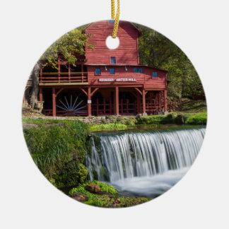 Ornamento De Cerâmica Paisagem do moinho de Hodgson