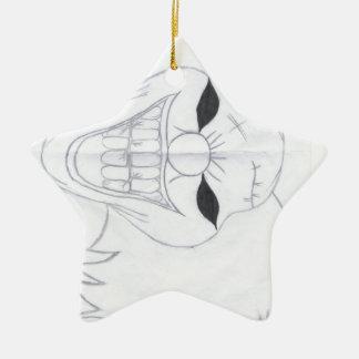 Ornamento De Cerâmica palhaço assassino