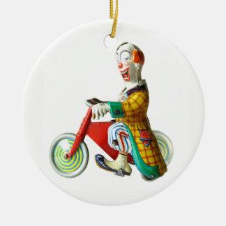 Ornamento De Cerâmica Palhaço de circo