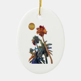 Ornamento De Cerâmica Palmas do paraíso
