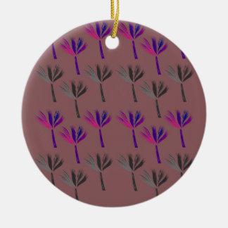 Ornamento De Cerâmica Palmas Eco exótico do design