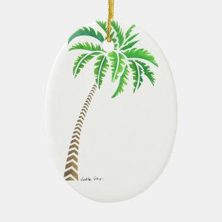 Ornamento De Cerâmica Palmeira tribal do coco