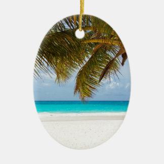 Ornamento De Cerâmica Palmeira verde na praia durante o dia