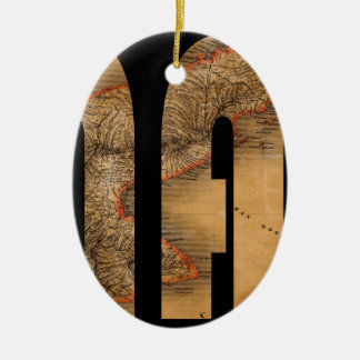 Ornamento De Cerâmica panama1864