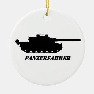 Ornamento De Cerâmica panzerfahrer