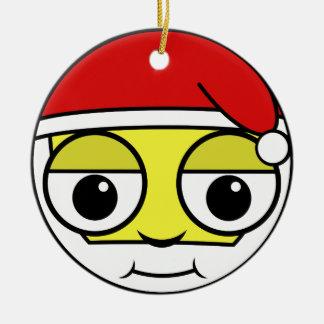 Ornamento De Cerâmica Papai Noel enfrenta