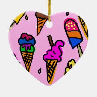 Ornamento De Cerâmica Papel de parede do sorvete