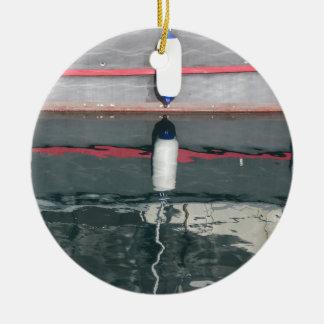 Ornamento De Cerâmica Pára-choques do barco que penduram no conselho